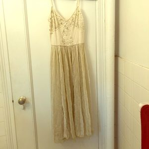 Free People Fairy Gauze Midi Dress Size Small